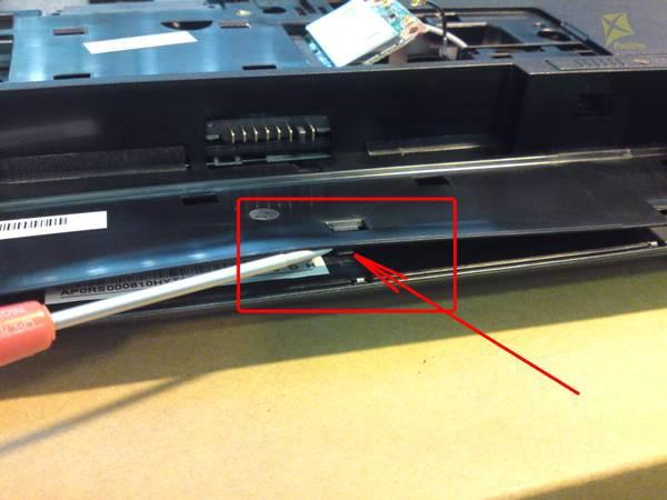 Разборка и чистка ноутбука Samsung NP