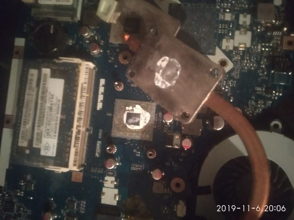 Разборка и чистка ноутбука Acer Aspire  5253